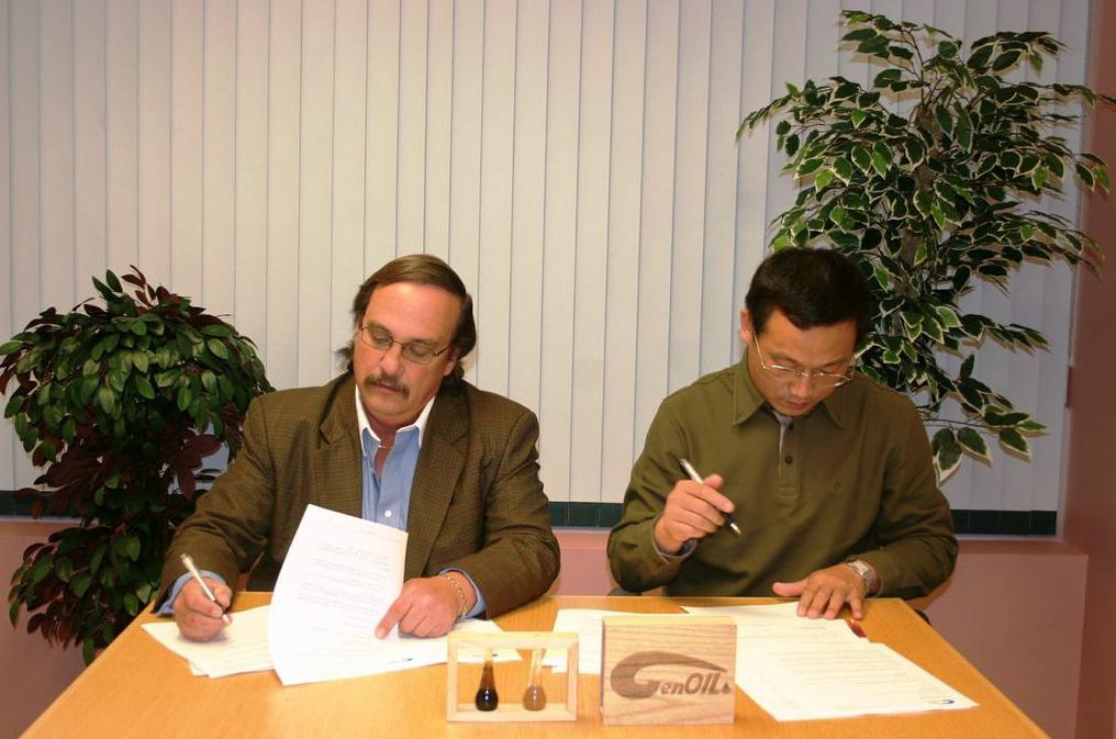 hyt genoil sign agreement