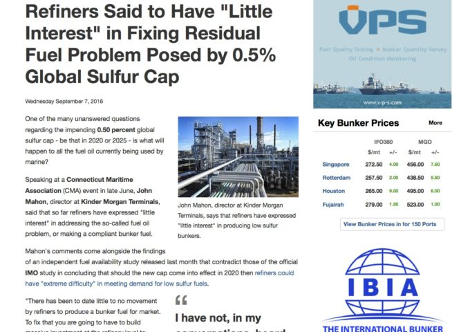 refiners-said-to-have-22little-interest22-in-fixing-residual-fuel-problem-posed-by-0-5-global-sulfur-cap-ship-bunker