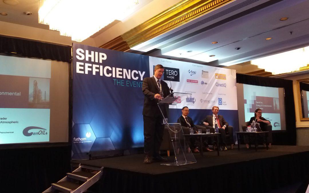 Prestigious Panel Awards Genoil the Fathom Ship Efficiency 'One to Watch' award 2016